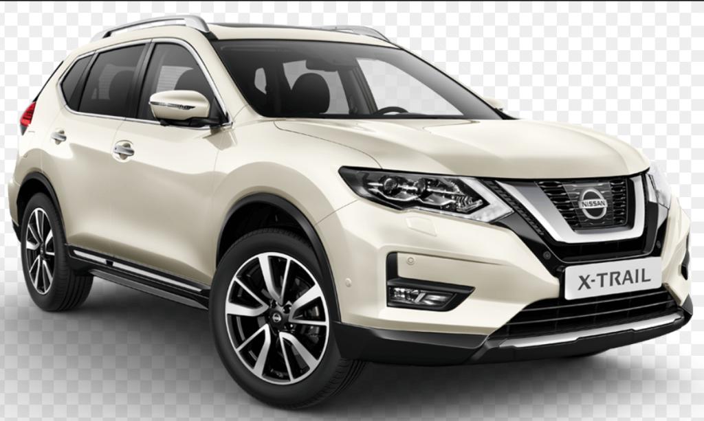 Nissan x trail white