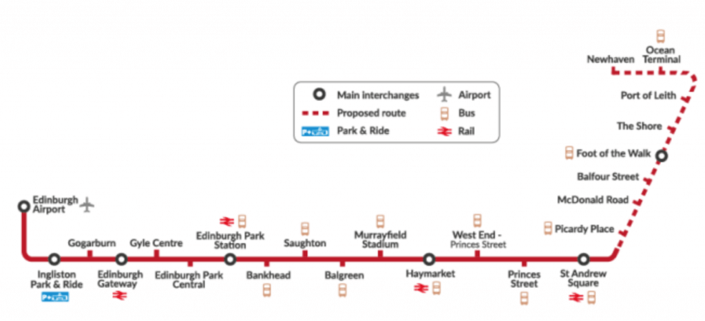 new tram route