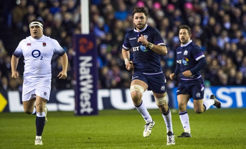 Scotland beat England 25-13 at Murrayfield in 2018
