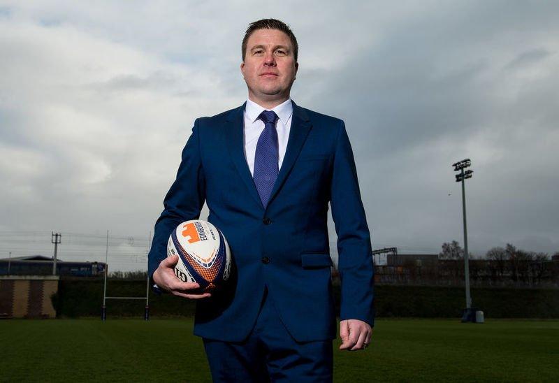 Douglas Struth, Edinburgh Rugby's new managing director