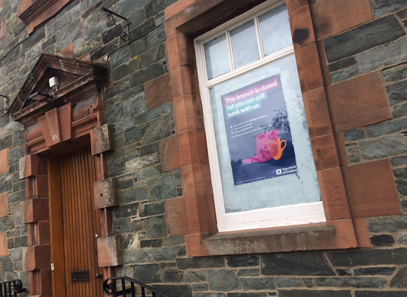 Aberfeldy bank branch closure
