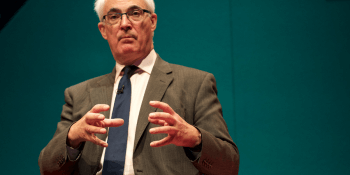 Alistair Darling PLSA conf