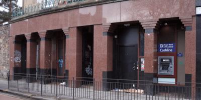 Bank branch closure closed