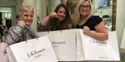 LK Bennett Edinburgh shop