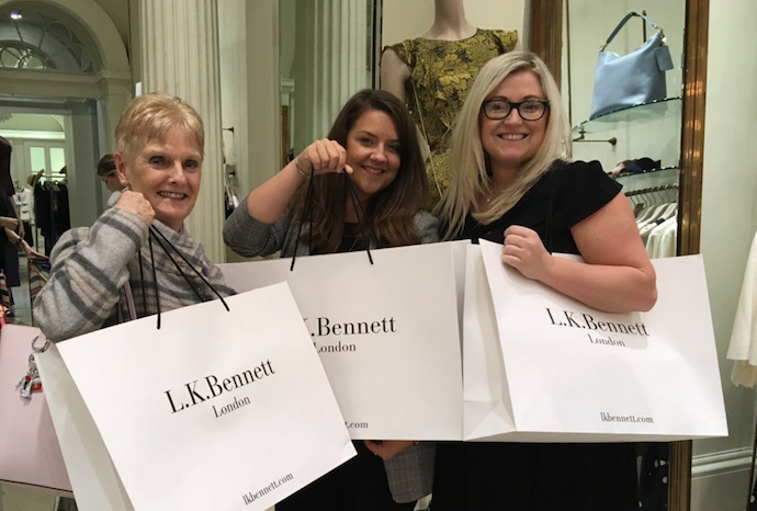 LK Bennett Edinburgh shop
