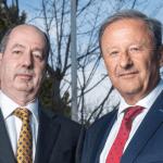Martyn Everett and Clive Fenton of Stewart Milne