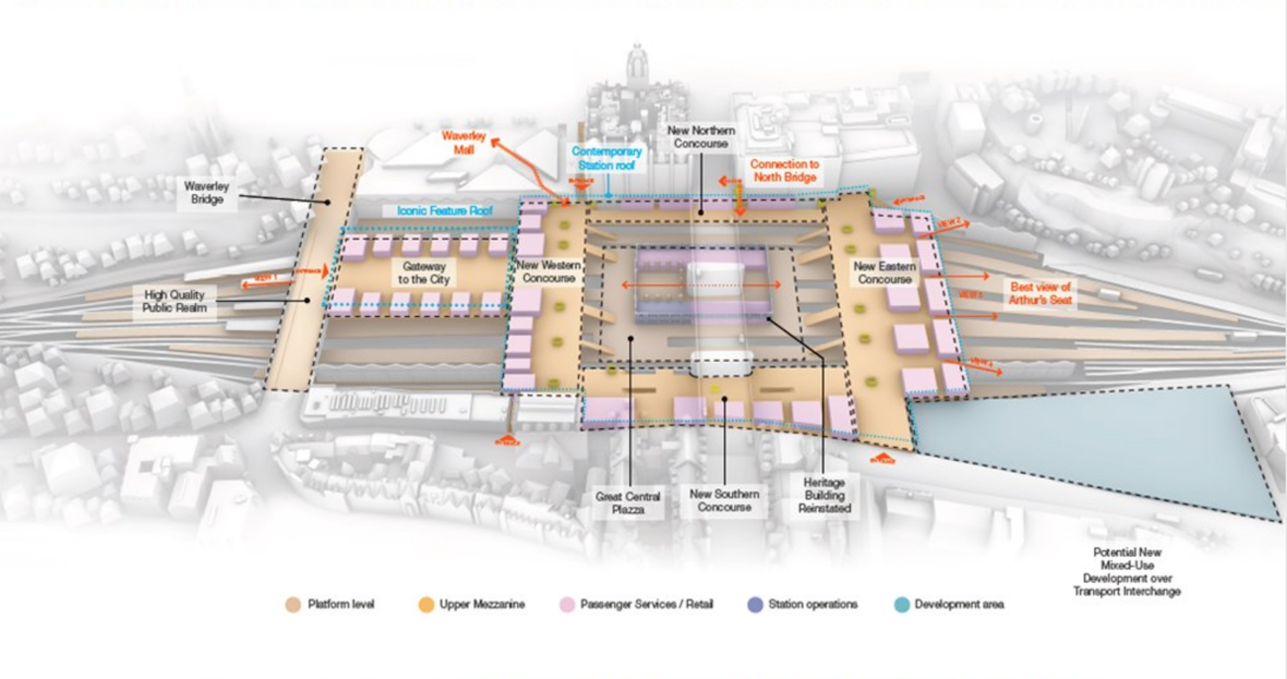 Waverley station plan