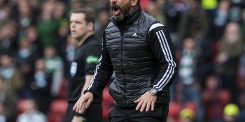 Derek McInnes, sent off against Celtic