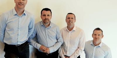 Brian Drake, John Anderson, Gary McGurk and Alan Timlin