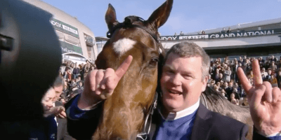Gordon Elliott with Tiger Roll