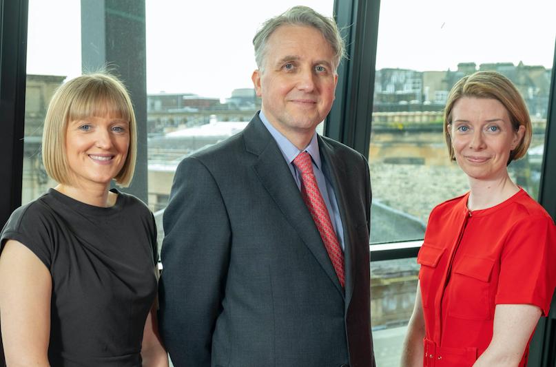 Lynne Cardow, David Gibson, Lynn Richmond