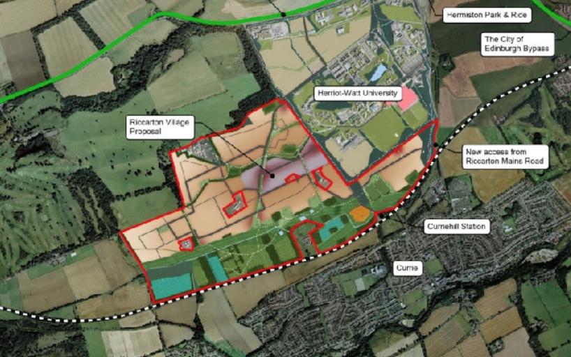 Riccarton village proposal