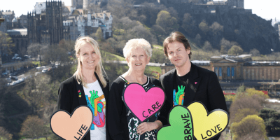 Sam Wells Barbara Harpham and Christopher Kane Heart of Scotland