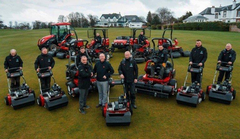 bruntsfield golfing society lawnmowers