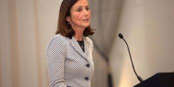 CBI chief Carolyn Fairbairn addresses members lunch in Edinburgh