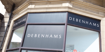 Debenhams store Edinburgh