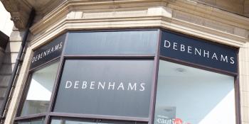 Debenhams store Edinburgh