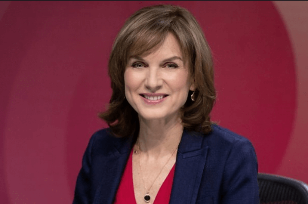 Fiona Bruce question time