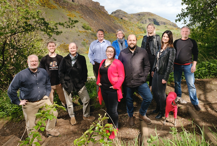 Holyrood Distillery team