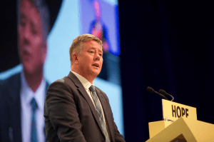 Keith Brown at 2019 SNP conf