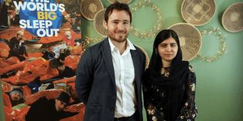 Josh Littlejohn and Malala