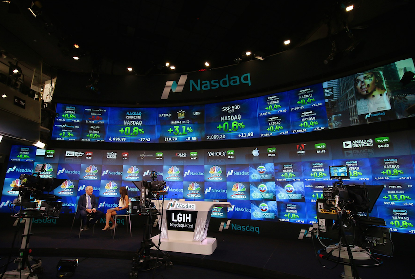 Nasdaq photo by Luca Marfe