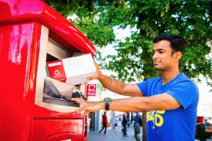 Royal Mail parcel post box (pic: Royal Mail)