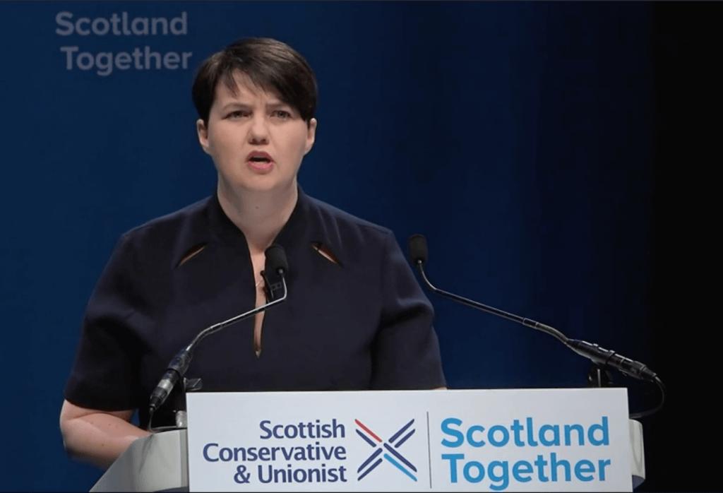Ruth Davidson at Aberdeen