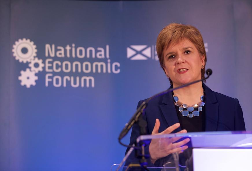 Sturgeon at National Economic Forum