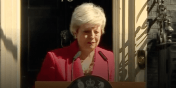 Theresa May in tears