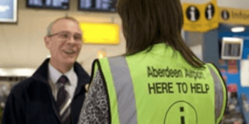 Aberdeen airport worker