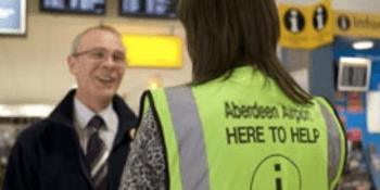 Aberdeen airport worker