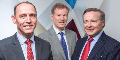 Andrew Walker, Andrew Shepherd, Sandy Manson: Johnston Carmichael