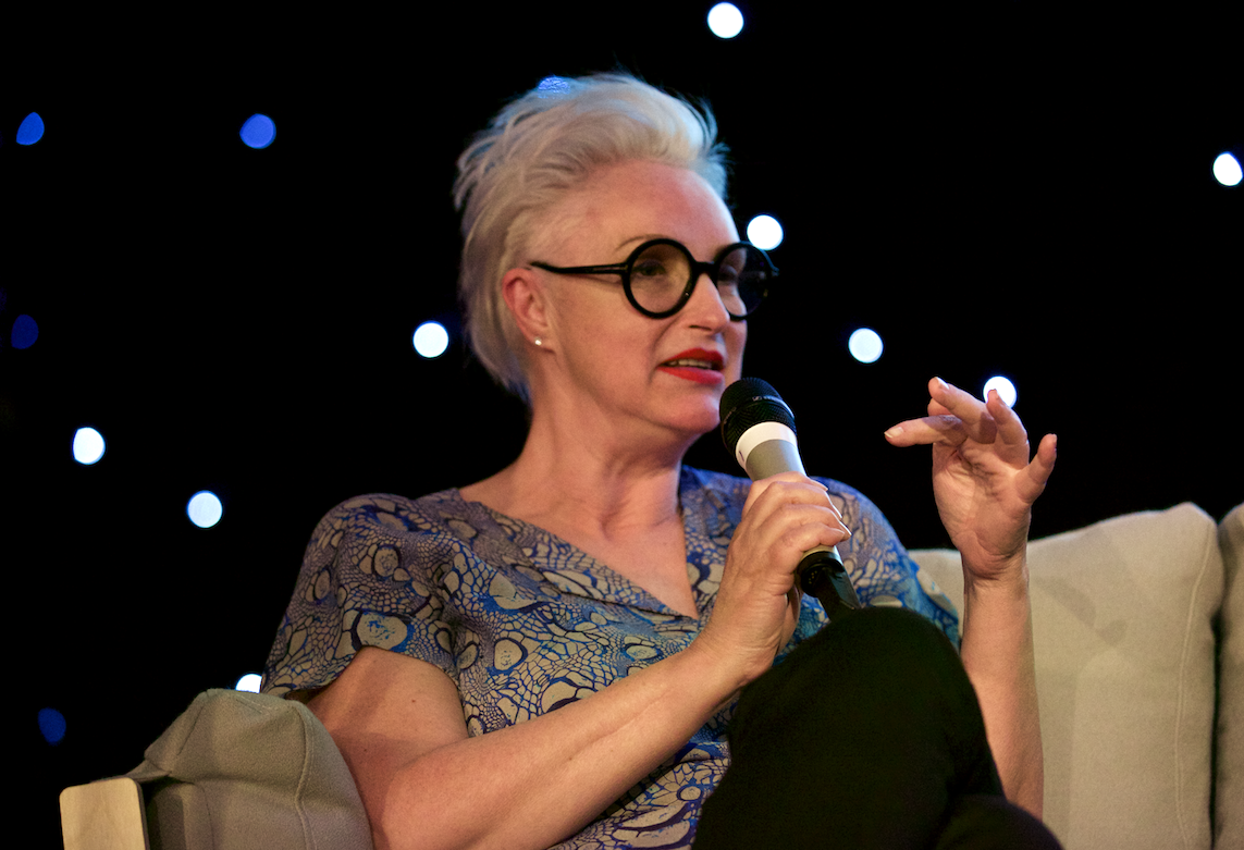 Celia Hodson at Youth Festival