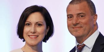 Claudia Cavalluzzo and Steve Dunlop