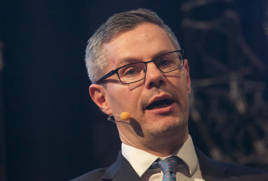 Derek Mackay speaking