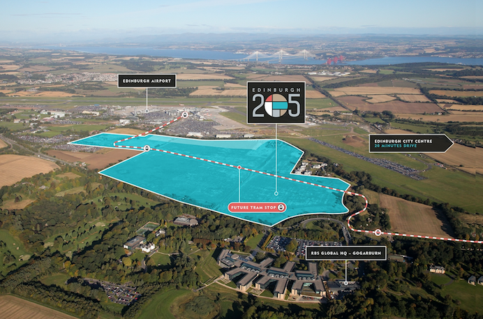 Edinburgh 205 airport plan