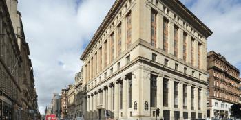Former Bank of Scotland Glasgow office