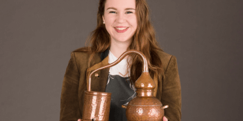 Helen Stewart of Badvo distillery