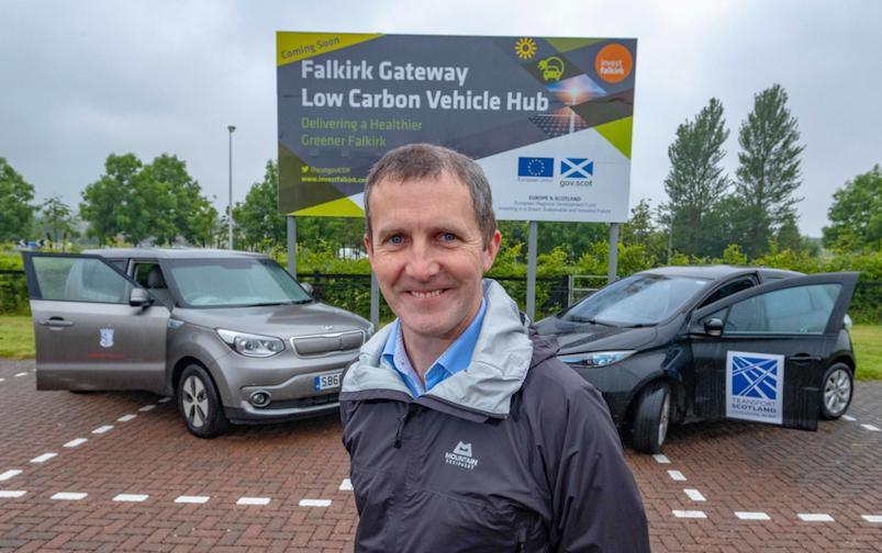 Michael Matheson electric charging