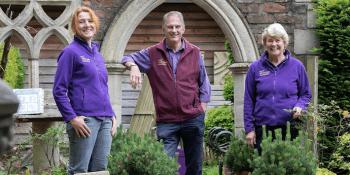 Morag Macrae, Lesley Watson and Dougal Philip