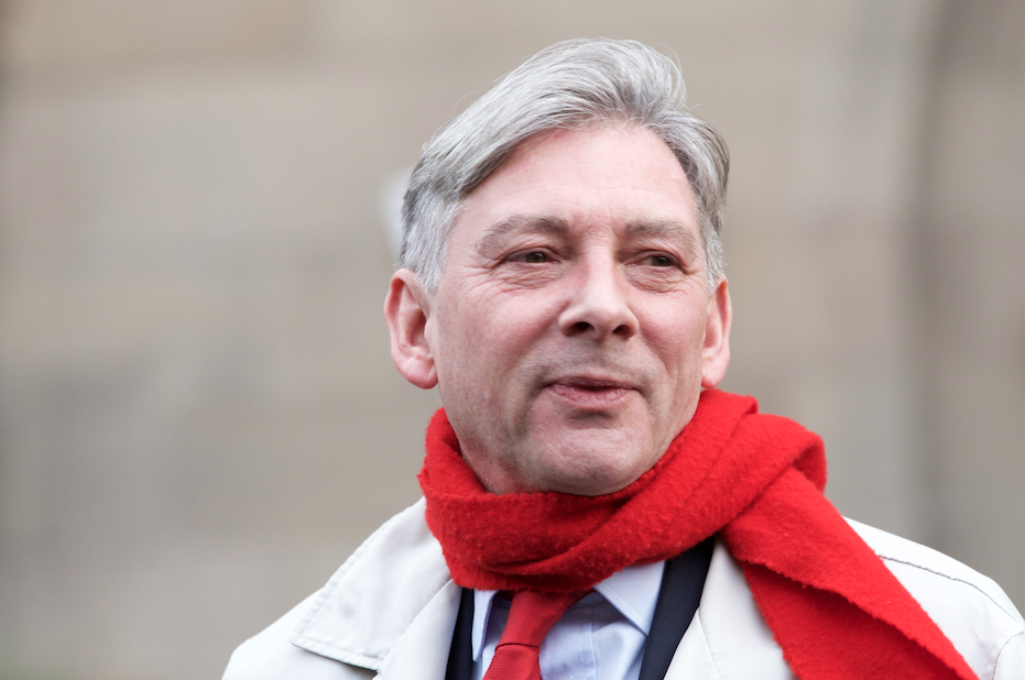 Richard Leonard in scarf