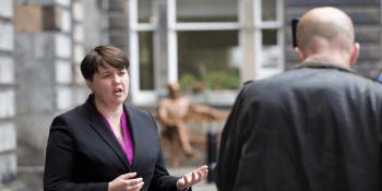 Ruth Davidson at City Chambers