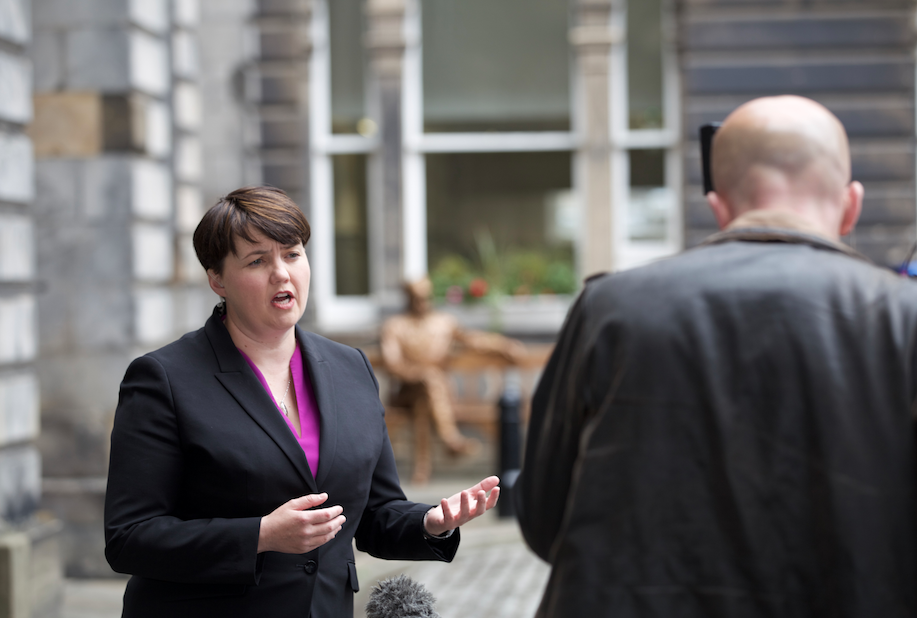 Ruth Davidson at City Chambers