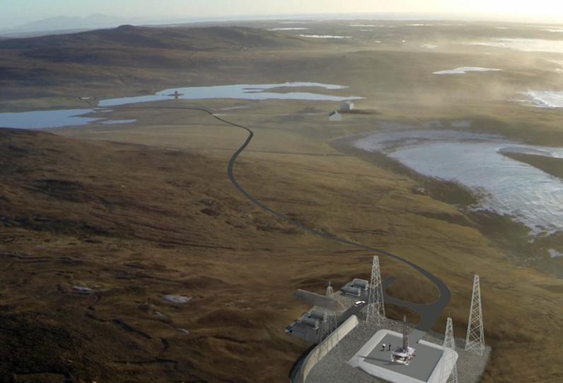 Spaceport at Western Isles