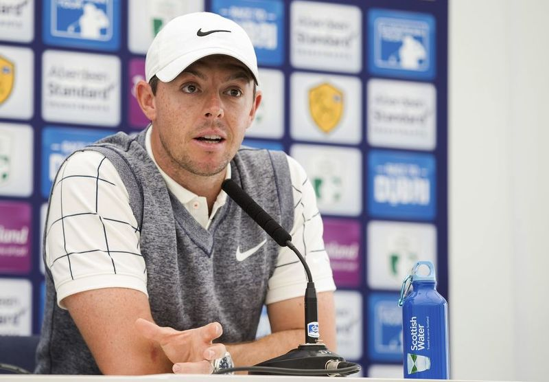 Rory McIlroy focused on Scottish Open
