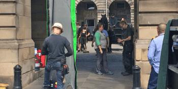 Belgravia television series filming in Edinburgh