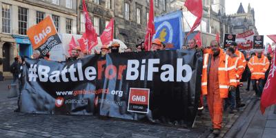 Bifab protest