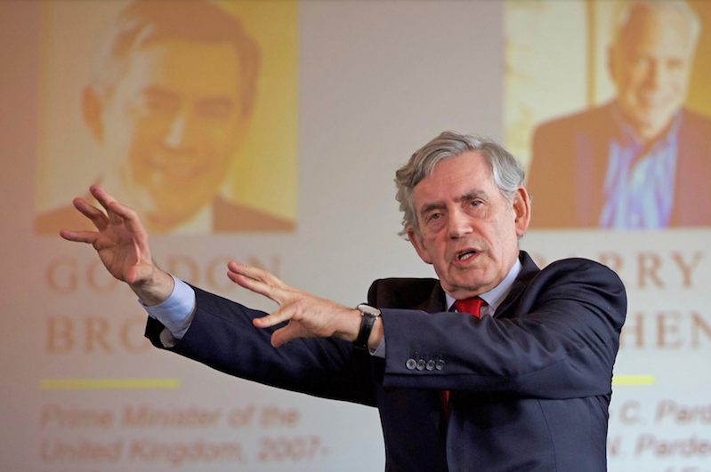 Gordon Brown at New Enlightenment conference
