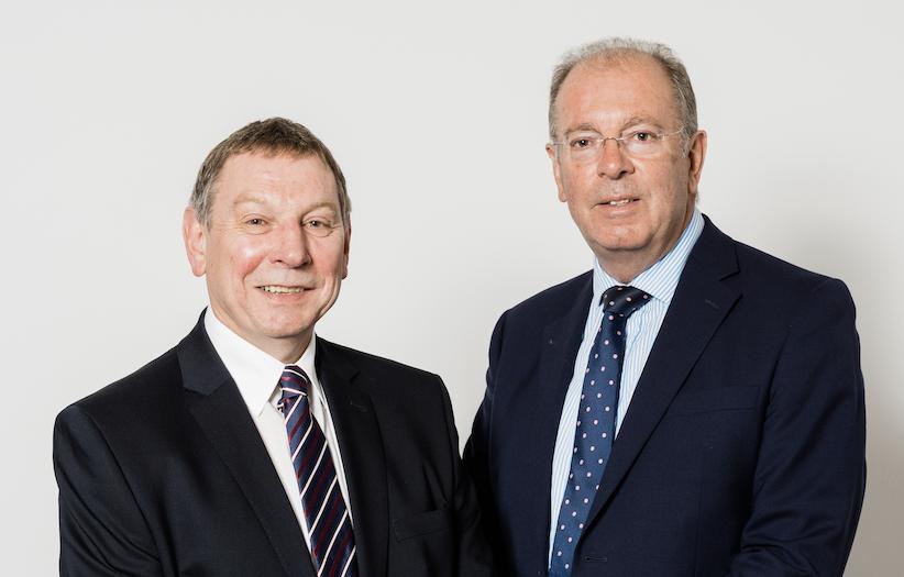 George Flett and Ian Williamson